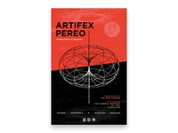 Artifex Pereo - CD Release Poster