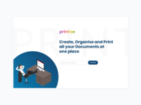 Landing Page of a product