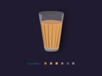 Tea Glass illustration