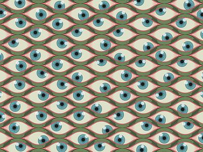 Argus design ilustracion vector colors pattern eyeball eyes ilustration ilustrator
