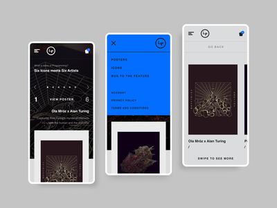 ICP_0301_20 product design design minimalism clean mobile app posters art poster modern web design store ecommerce
