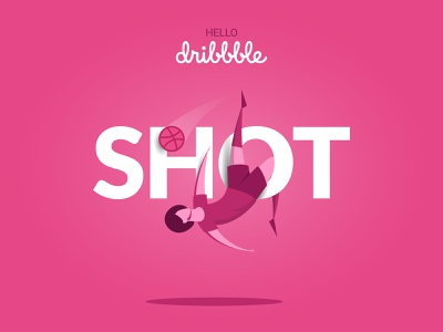 First Shot web ux ui app flat character vector minimal illustration design branding motion graphics 2019 football dribbbble