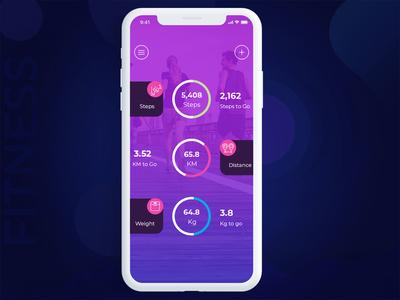 Fitness background icon menu webdeisgn websit ux ui app