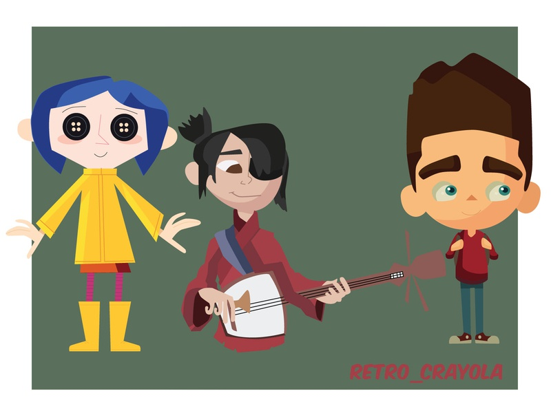 Laika 15 Years Doodle 2020 paranorman kubo coraline illustrator adobe illustrator adobe graphic design character design animation illustration
