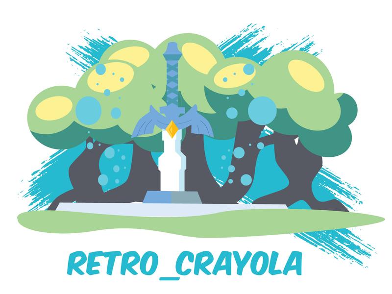 Zelda legend of zelda zelda 90s nintendo gaming sketch adobe illustrator graphic design adobe illustration
