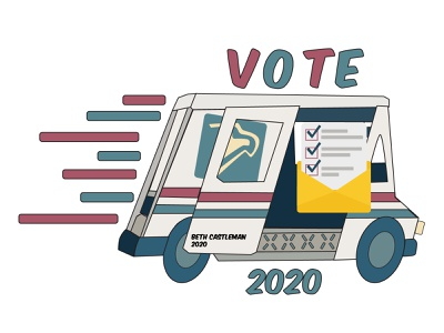 Vote 2020 be kind 2020 election 2020 vote cartoon design animation adobe illustrator adobe illustration
