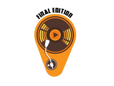 Final Edition ( Previously Named Vinyl Division) illustration design old school vintage band logo music