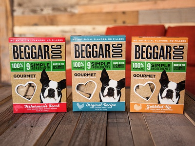 Beggar Dog Packaging