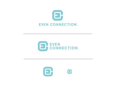 Even Connection brand identity icon logo design branding design brand design design branding logo graphic design