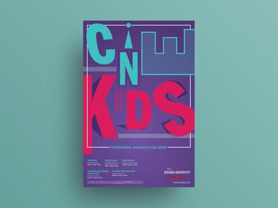 CINEkids International Children's Film Series poster