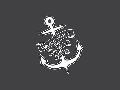 Water Witch Coffee & Tea Company logo design branding identity design brand design logo design graphic design