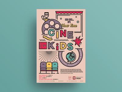 Fall 2019 CINEkids International Children's Film Series poster