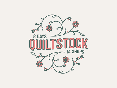 "Shop Hop ""Quilt Stock"" T-Shirt"