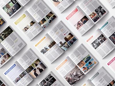 Indiana University Cinema Spring 2019 program booklet iucinema photoshop grit layout design layout cover art cover design publication design bookdesign booklet book graphic design design