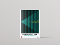 Indiana University Cinema Spring 2020 program booklet