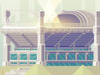 A Stadium.