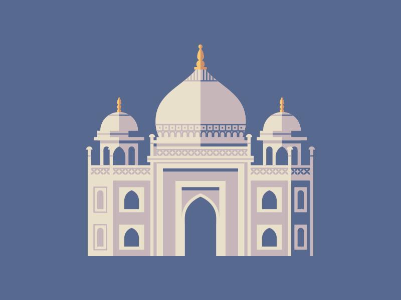 Taj Mahal taj mahal illustration