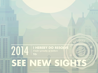 To Resolve 2014 to resolve illustration resolution city london nyc