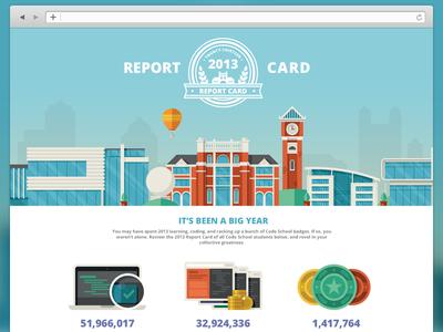 Code School - 2013 Report Card