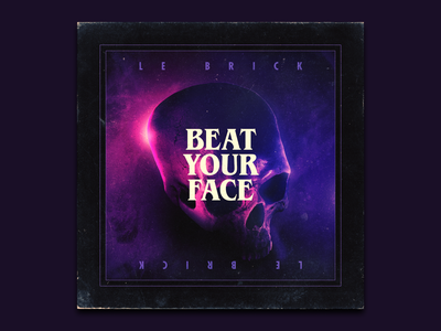 Nodeshifter Tracks: Beat Your Face outrun 80s art album music record vinyl retro synthwave video game game nodeshifter