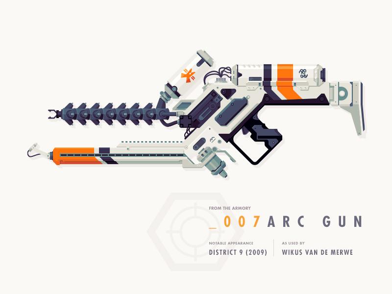 Epic Armory: ARC Gun mulcher epicarmory epic armory weapon gun district 9 arc gun alien
