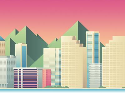 Wired - Honolulu honolulu city illustration wired