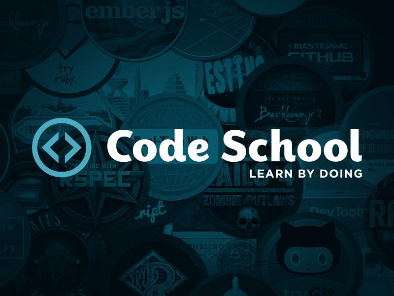 Code School Rebrand code school logo lettering identity custom logotype