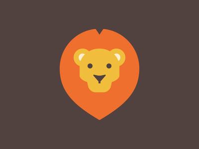 It's a Lion lion illustration