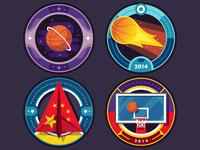 ESPN Badges: College Hoops Tip-Off 2014