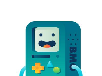 BMO illustration adventure time bmo