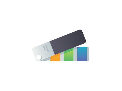 Every Breath You Take, I'll Be Swatchin' You illustration colors pantone swatch