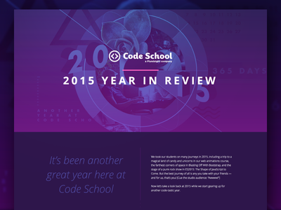 Code School: 2015 Year in Review