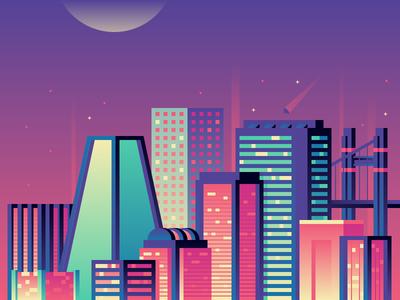 I Saw It On Twitch: Neon Skyline