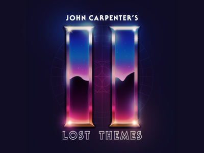 I Saw It On Twitch: Lost Themes II album cover synthwave retrowave retro 80s john carpenter lost themes