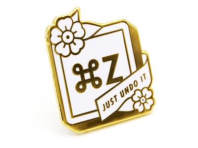 Command Z: Midas Variant gold lapel pin enamel command z super team deluxe
