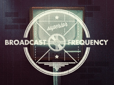 _90 television illustration broadcast frequency vintage antique ad tv