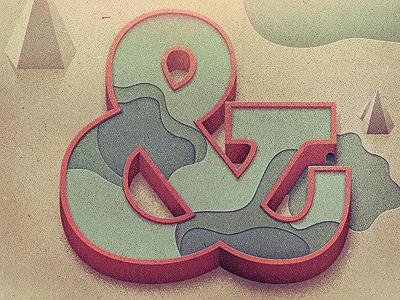 _98 type ampersand illustration