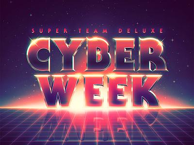 Cyber Week - Last Call retrowave synthwave cyber week super team deluxe