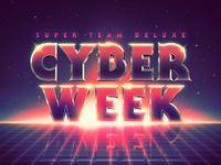 Cyber Week - Last Call