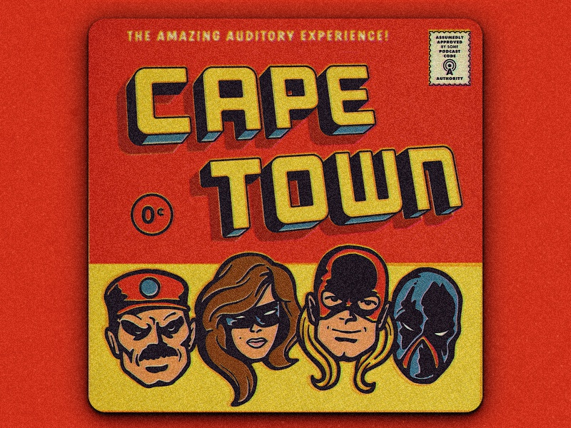 Cape Town comic book podcast cape town