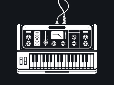 Synth illustration synth