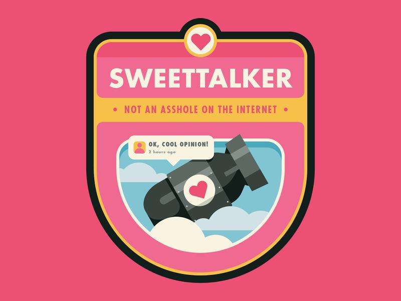 Little Victories: Sweettalker little victories badge achievement