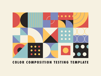 Color Composition Testing Temp[late