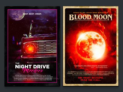 Fake Cinema Vol. 2 photomanipulation horror vintage retro illustration poster design poster