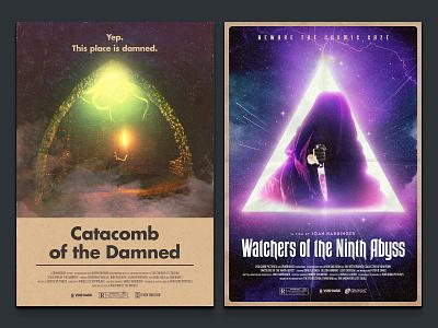 Fake Cinema Vol. 3 horror science fiction vintage retro movie poster