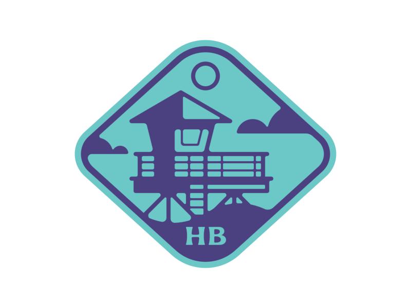 Weekly Warmup: Huntington Beach CA dribbbleweeklywarmup