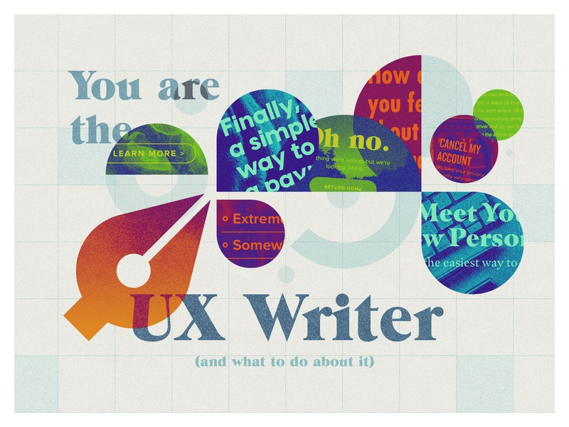 Product at PS Blog: You Are The UX Writer ux illustration writing blog