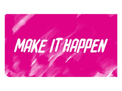 inspo to everyone with an idea costavisions ocra creative nodale dribbble make it happen ideas miami
