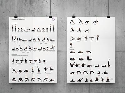 Yoga Sequence Training Poster mockups 2017 print photoshop photography yoga studio teacher training poster yoga