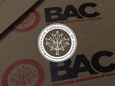 Blockchain Associates of Canada currency crypto bitcoin blockchain card business branding